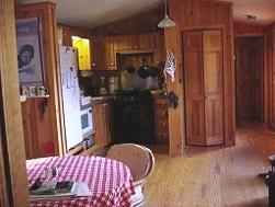 Chestnut Mountain Cabin Kitchen